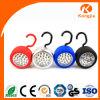 24 indicatori luminosi portatili luminosi del lavoro della materia plastica del LED con l'amo
