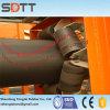 Bande de conveyeur en caoutchouc de pipe avec le faisceau de tissu