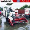 Prix de moissonneuse de cartel de riz de la marque 4lz-4.0e 88HP du monde mini
