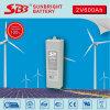 batterie profonde d'Opzv de gel du cycle 2V600ah pour solaire à la maison