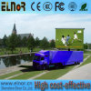 Tela de exposição móvel do diodo emissor de luz do anúncio ao ar livre da tevê do diodo emissor de luz do caminhão P10