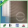 Folha Uv-Revestida da telhadura do policarbonato da folha da cavidade da Dois-Camada de Bayer da alta qualidade