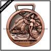 Antieke Bronze 3D Sports Medal voor Souvenir (byh-10682)