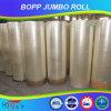 OPP Jumbo Roll con Water Base Acrylic Adhesive