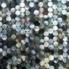 Blacklipの貝のモザイク・タイル、真珠のモザイク