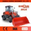 Chargeur de roue de machines de construction de Qingdao Everun Er16 mini à vendre