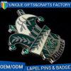 Изготовленный на заказ Pin значка логоса с диамантом