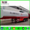 China 3axle 45000 litros de petróleo del combustible del petrolero de acoplado semi