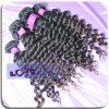 부드러움과 Durable Hand Rolled Deep Wave 브라질 Hair Etension