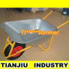 65L Large Capacity Galvanization Wheelbarrow Wb6404A