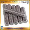 Plein boulon d'amorçage de l'acier inoxydable A2-70 A4-80, boulon de goujon