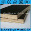 12/18mm Poplar Core Black Anti Slip Film Faced Plywood