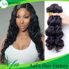La extensión del pelo del estilo caliente ondulada Remy pelo humano brasileño