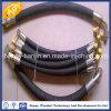Tuyau en caoutchouc hydraulique de double tresse du fil R2