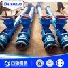 Trasportatore a rulli flessibile del tubo della vite di capienza del tubo di Baisheng 50t/H per grano, trasformazione dei prodotti alimentari con la tramoggia