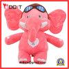 Animal enchido feito sob encomenda de elefante cor-de-rosa de animal enchido