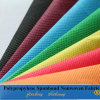 Colorful PP Spunbond Nonwoven Fabric for Bags (10g-200GSM)