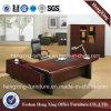 Tableau de bureau exécutif de noix de meubles de bureau en bois solide (HX-RD3126)