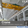 16ton Double Girder Overhead Crane/Cranes/Bridge Crane/avec Wire Rope Hoist