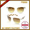 Qualità trasparente Sun Glases di disegno degli occhiali da sole F6668