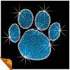 卸し業者の動物の足プリントデザインラインストーンの転送デザイン(SP)