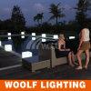 Pietra chiara a energia solare impermeabile esterna di nuovi disegni LED
