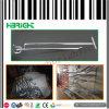 Chromierte doppelte Zeilen MetallPegboard Bildschirmanzeige-Haken