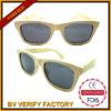 Óculos de sol de madeira de bambu naturais e recicl do frame