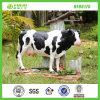 La meilleure vache laitière animale de vente de décoration de jardin de résine (NF86175)