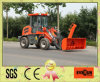 1.0ton Everun Mini Wheel Loader con Snow Blower
