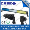 180W 33 인치 크리 사람 반점 또는 플러드 또는 결합 Offroad LED 표시등 막대