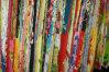 綿のカルヴァリーのあや織りファブリック