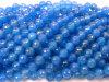 la pietra preziosa blu dell'agata di 10mm slaccia i branelli