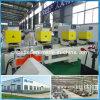Traitement des machines en plastique de trappe de guichet du vinyle UPVC de PVC