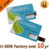 Диск USB изготовленный на заказ кредитной карточки подарка логоса внезапный (YT-3107)