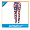 Изготовленный на заказ Printing Sublimation Christmas Leggings для Girls