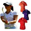 女性の屋外スポーツのゴルフ摩耗のワイシャツ