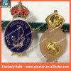 China fabricante Australia Marina Rey Corona Custom Metal Lapel Pin Badge