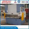Máquina de dobra hidráulica da placa de aço de carbono WC67Y-100X2500/máquina de dobramento do metal