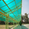 10mm Green Polycarbonate Twin Wall Sheet для Roofing