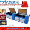 Cheap Small Portable Laser Cutting Machines for Plastic / Rubber / Leather