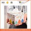 Rectángulo de encargo del caso del cuadrado de la torta del regalo del papel de la cartulina de la Navidad del festival