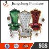 Stoel van de Troon van het Huwelijk van fabrikanten de Moderne Zilveren Koninklijke (jc-K01)