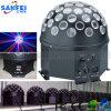 Iluminação clara do clube noturno da esfera de cristal do diodo emissor de luz do estágio
