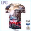 주문 고품질 형식 열 면 3D에 의하여 인쇄되는 t-셔츠
