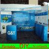 Soporte reutilizable portable de la feria profesional del diseño de la cabina de la exposición