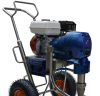 Grande máquina de pulverização do motor de gasolina do fluxo