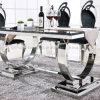 Het dineren de Marmeren Eettafel van het Meubilair met het Been van het Metaal