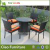 Giardino Rattan Table e Chair di Outdoor Furniture Wicker di svago