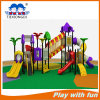 Campo de jogos ao ar livre das crianças quentes e campo de jogos plástico das crianças para miúdos